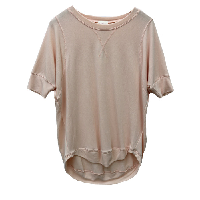 Cozy Slub Tee- Light Nude- FT-892-LT.NUD