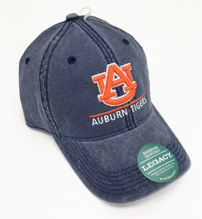 Auburn Dashboard Adjustable Hat- Navy
