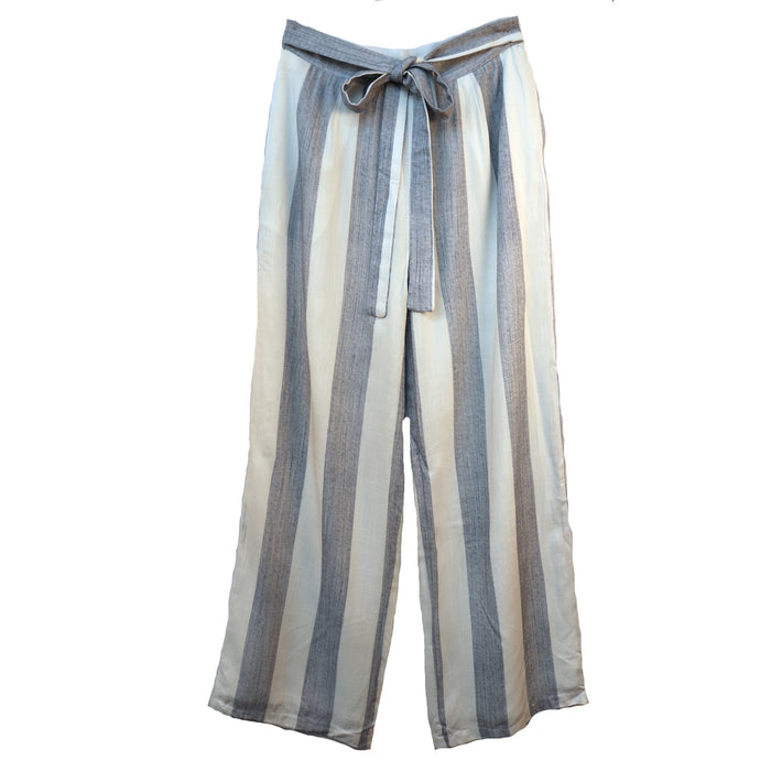 By the Bay Pant- Off White/Denim