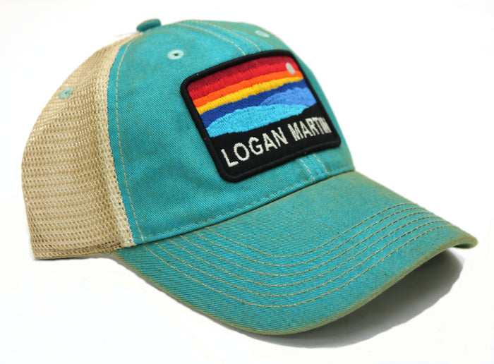 Logan Martin Sunset Trucker Hat