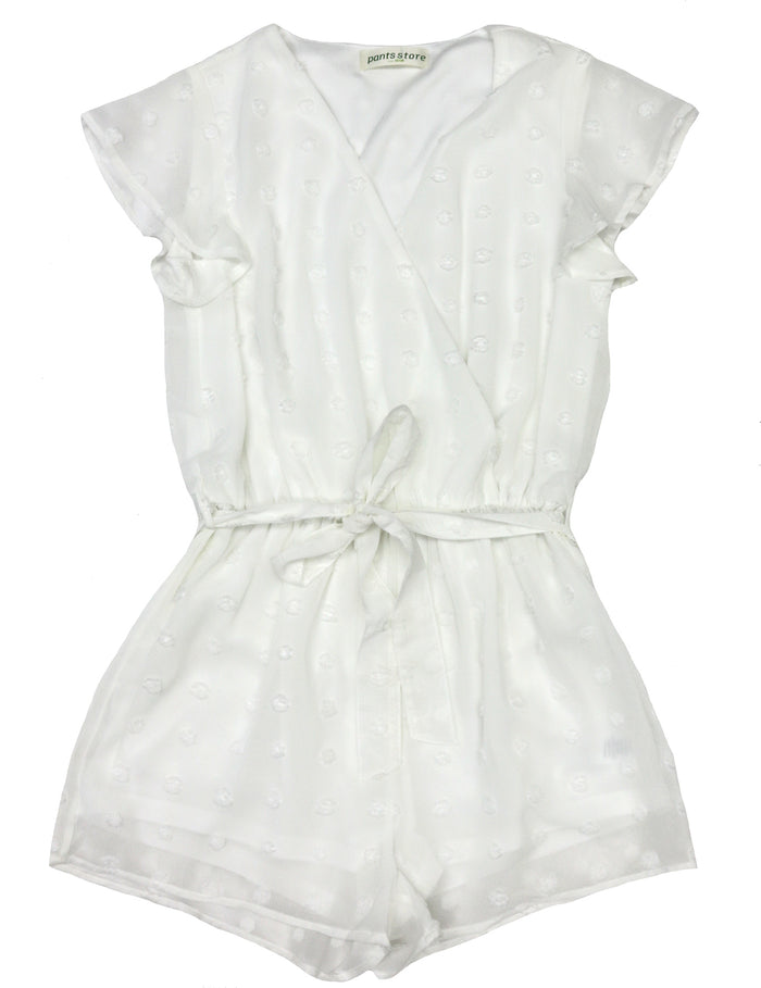 Dressed in White Romper