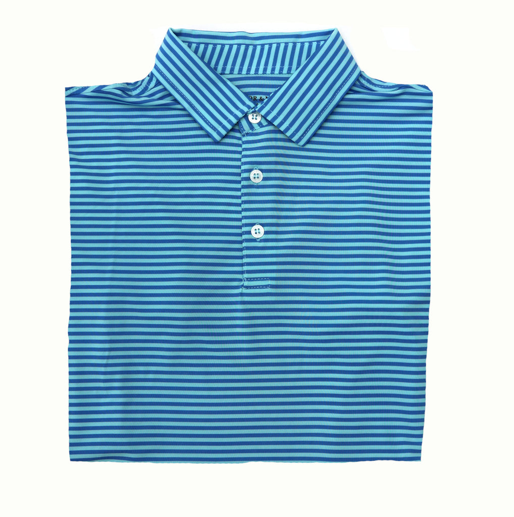 Taylor & Mick Youth Short Sleeve Polo