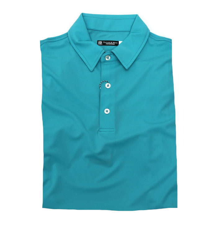 Taylor & Mick Solid Performance Polo