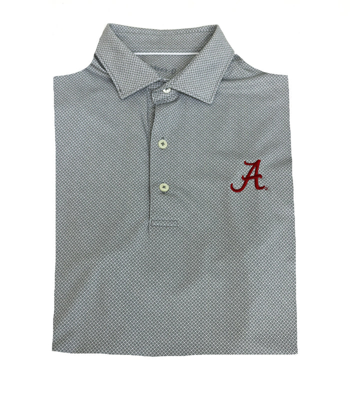 Johnnie O Alabama Brickyard Performance Polo