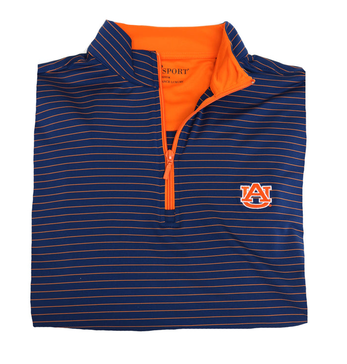 Horn Legend Auburn 1/4 Zip Performance Pullover - 1018Q