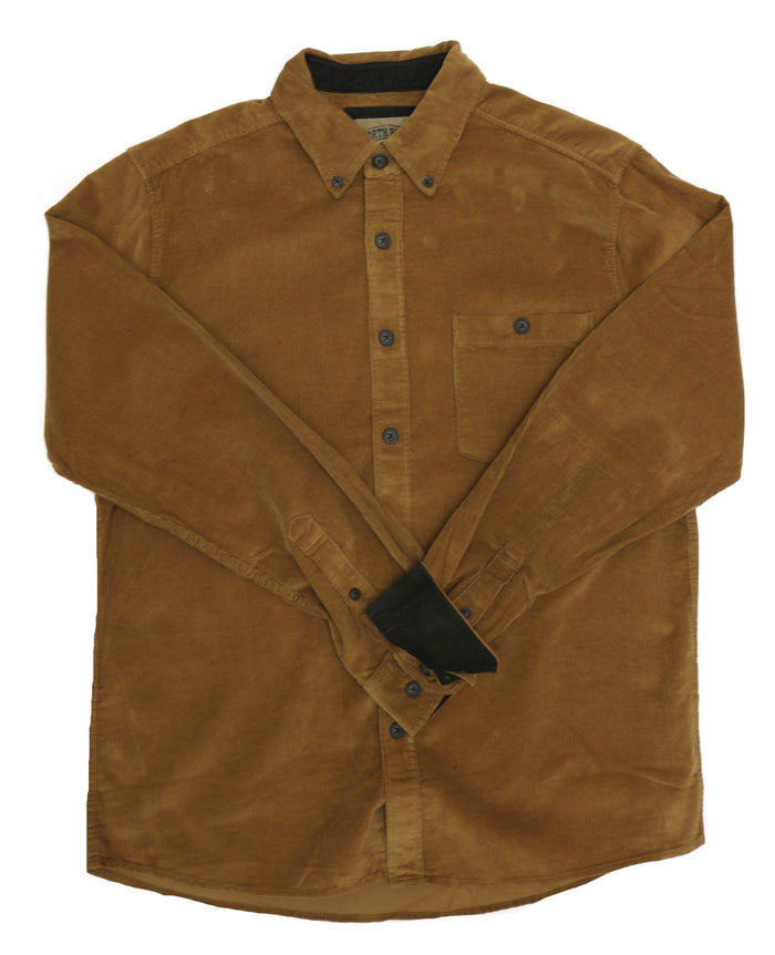 North River Corduroy Button Down Shirt - NRM6370