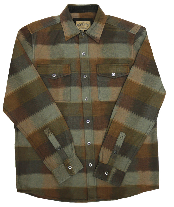 North River Plaid Shirt - NRM6369