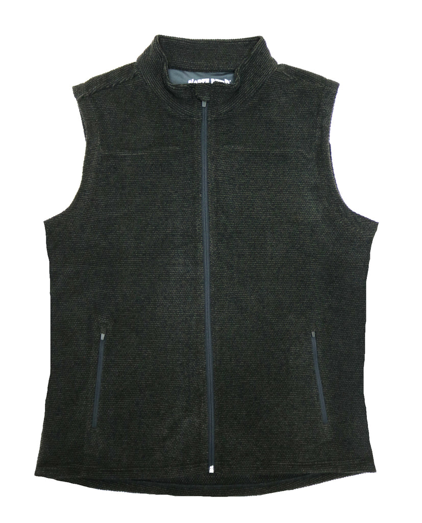 North River Zip Up Vest - NRM8037