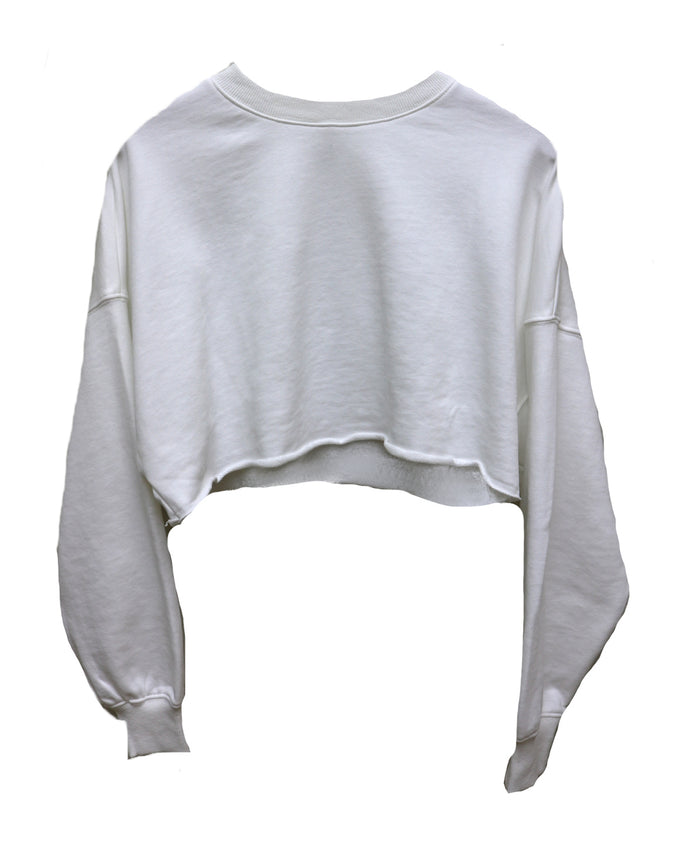 Throw it On Crop Sweatshirt