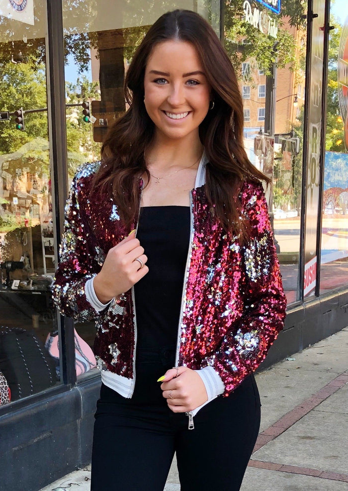 Sequin Spirit Jacket