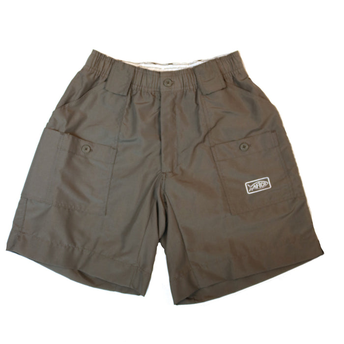 Aftco Long Fishing Short- Charcoal