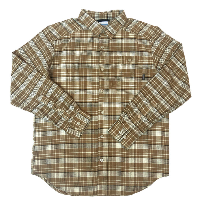 Columbia Cornell Wood's Flannel Long Sleeve - CORNELL WOODS-DEL
