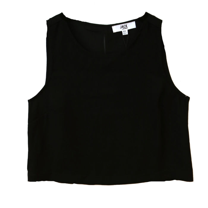 Jack Slit Back Top- Black