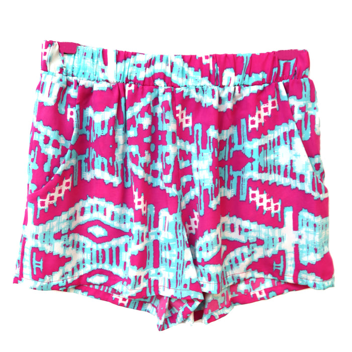 Set for Santorini Short- Pink