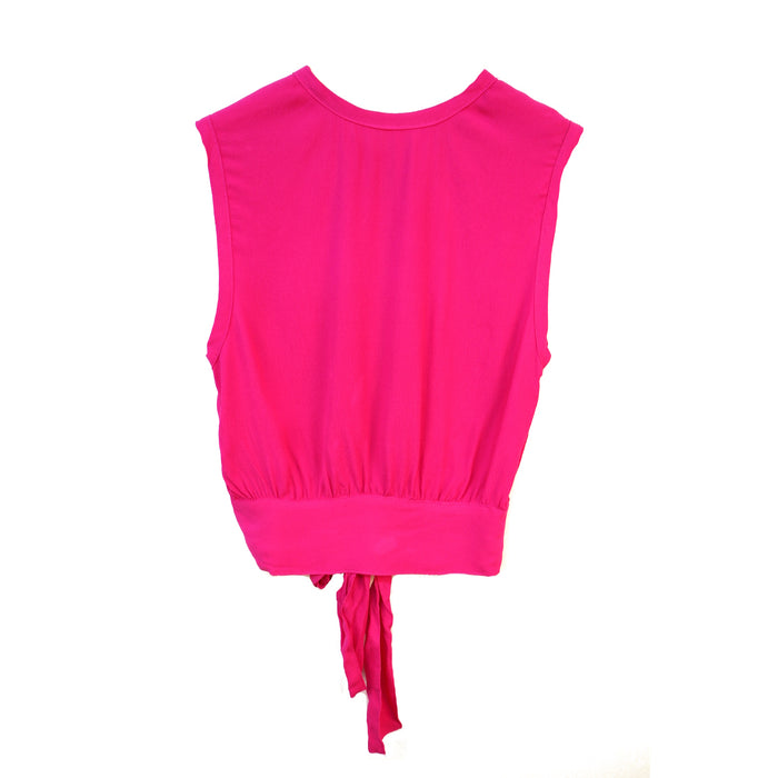 Tie it all together Top- Fuchsia
