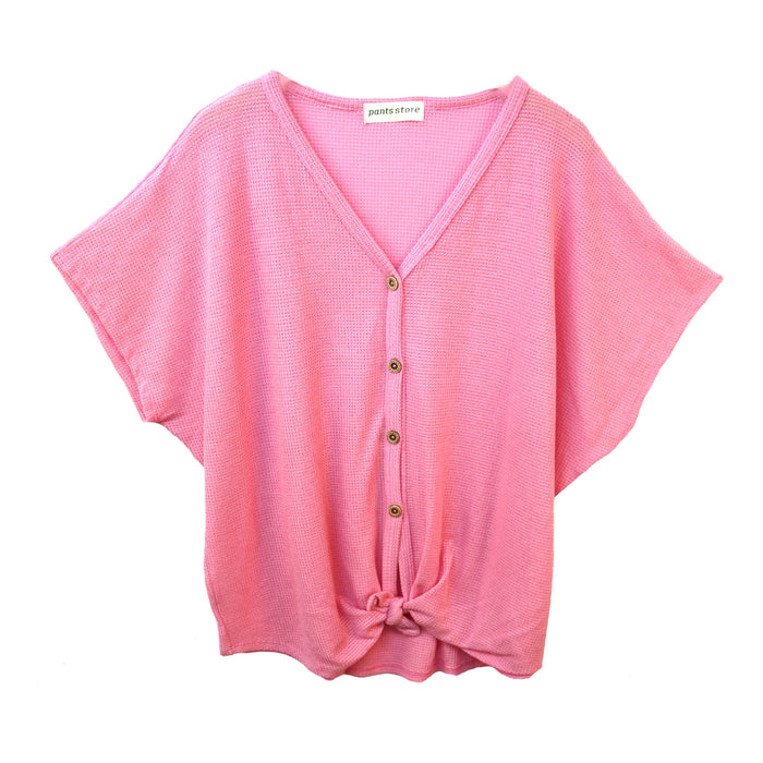 Everyday Classic Top- Pink