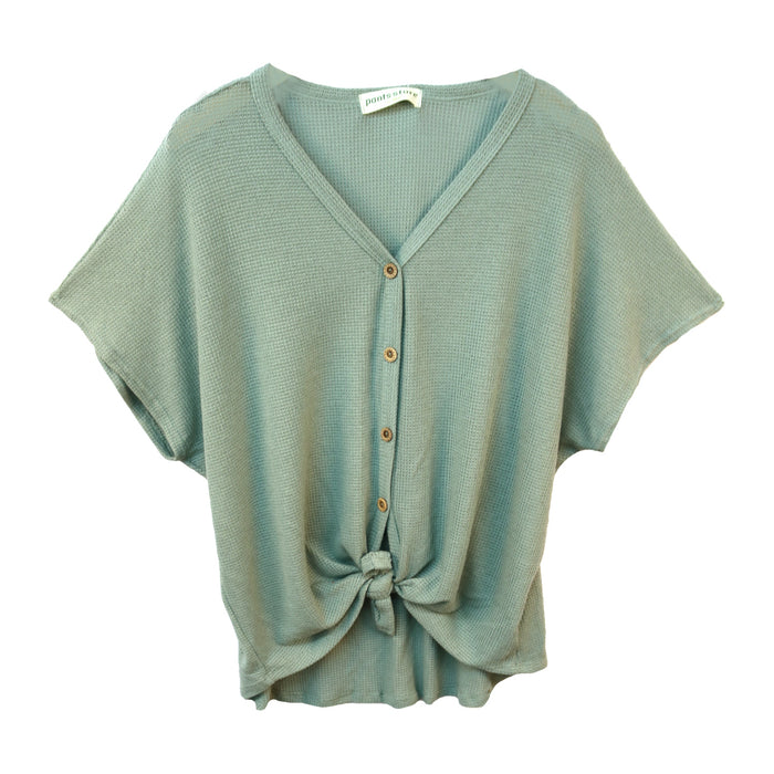 Everyday Classic Top- Sage