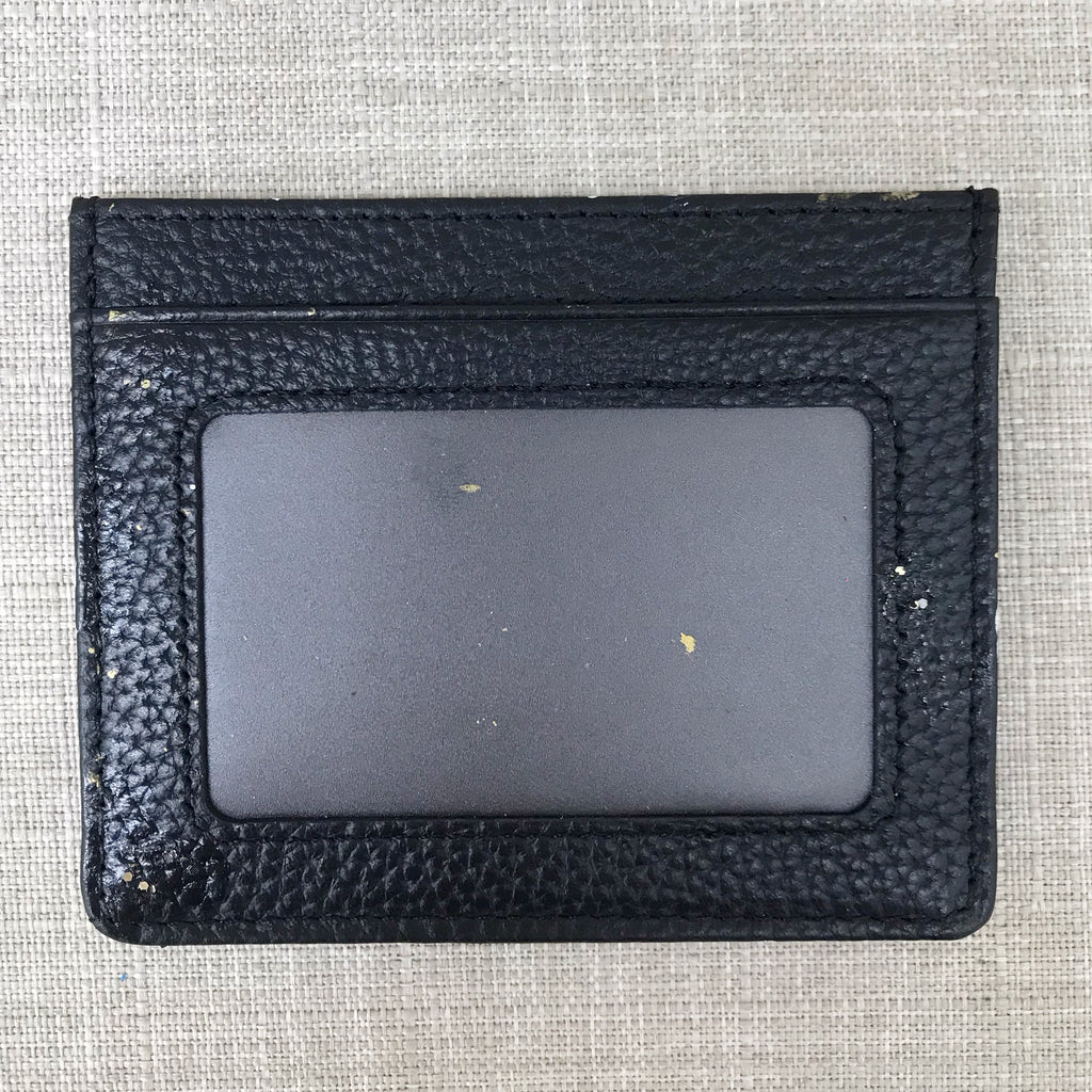 Lucky Metallic CC Credit Card Holder