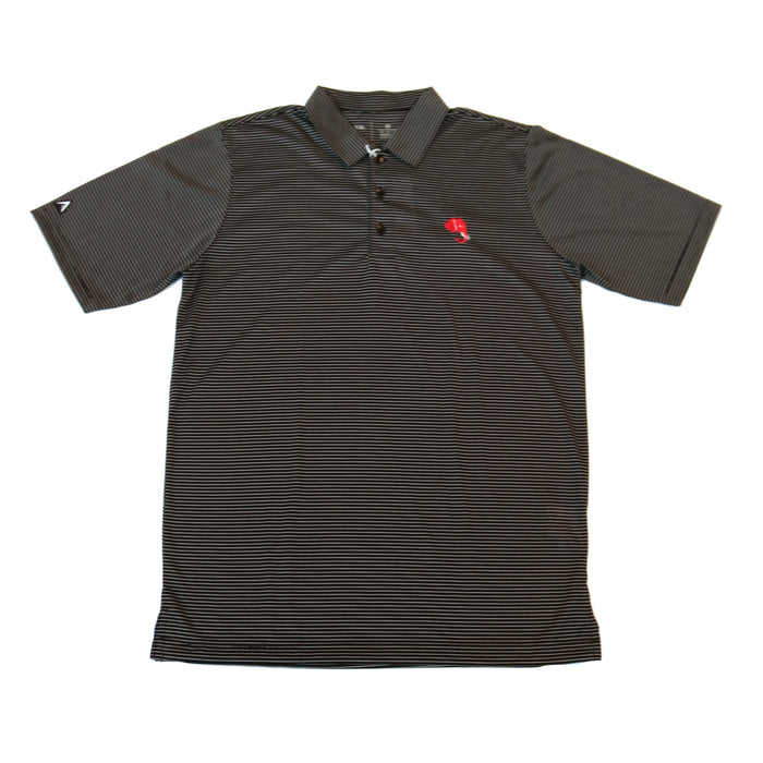 Antigua Quest Elephant Head Polo- Black/White