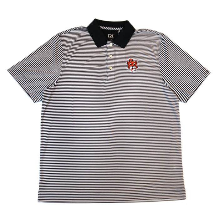 Cutter & Buck Tiger Head Dryte Polo- Navy/White