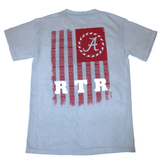 Alabama RTR Flag T-shirt - 51906030-GRY