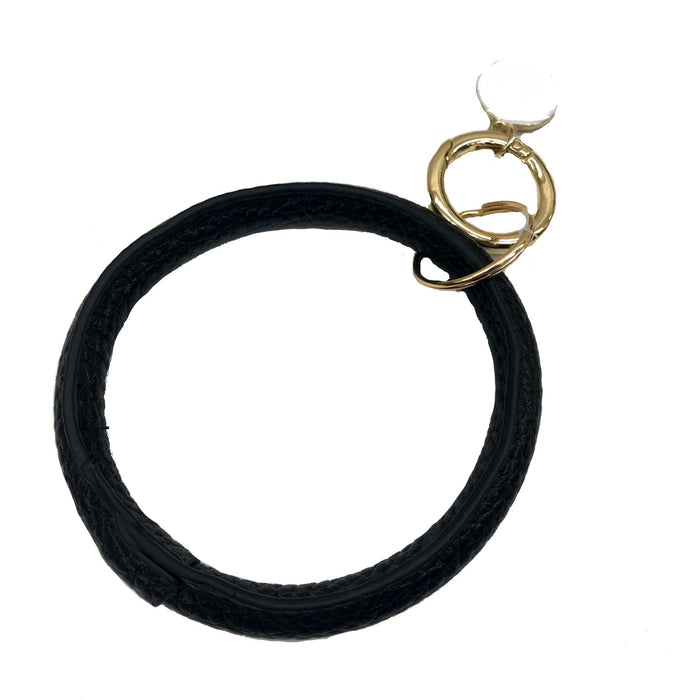 O-Ring Keychain- 9809-BLACK