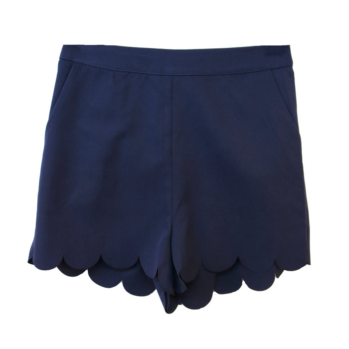 Scalloped All the Way  - 72248-NAVY