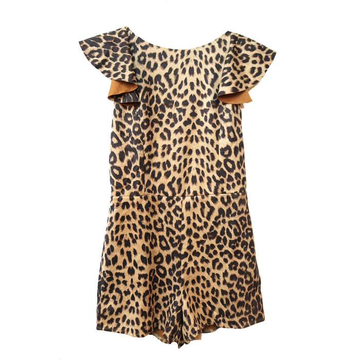 On the Prowl Romper - SL8481-TAUPE