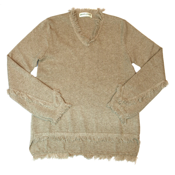 Friday Fringe Sweater - TMK729-BE