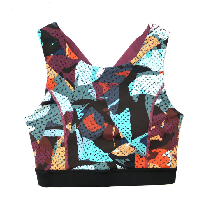 Kaleidoscope Sports Bra - AT2155-PRINT