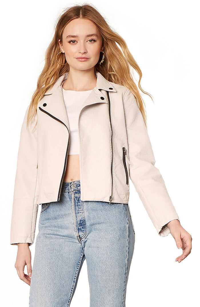 BB Dakota London Calling Faux Leather Jacket