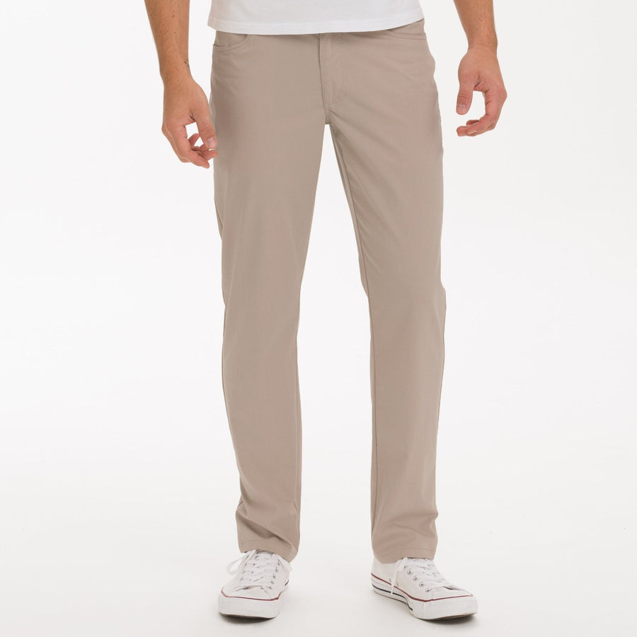 Johnnie-O Marin Pant- Light Khaki