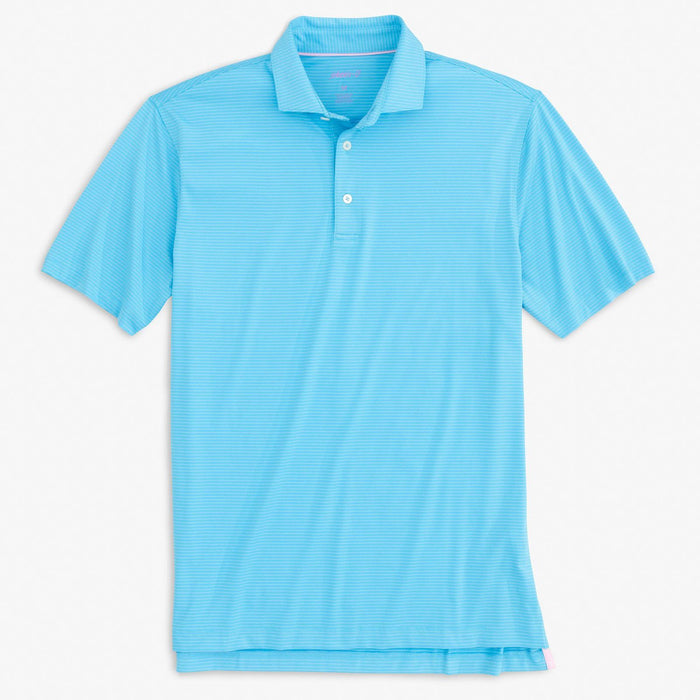 Johnnie O Albatross Striped Prep-formance Jersey Polo