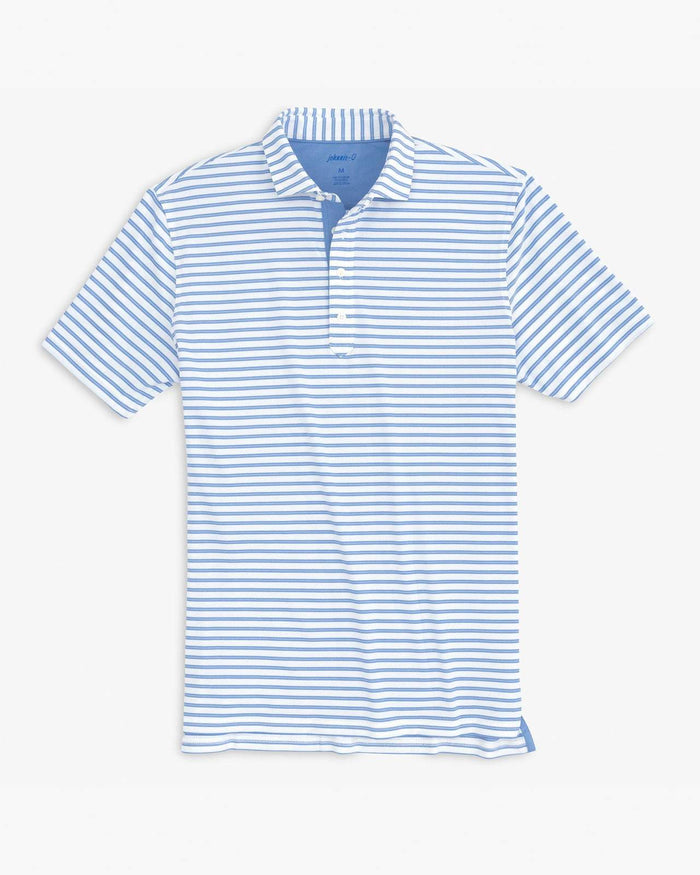 Johnnie-O Evans Striped Prep-Formance Pique Polo