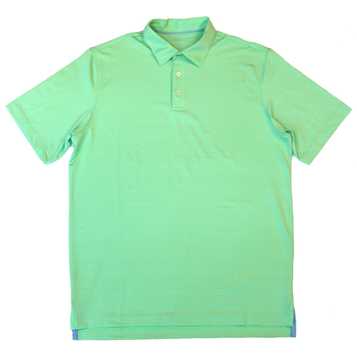 Johnnie-O Albatross Performance Polo- Green