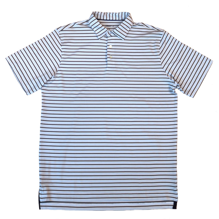 Johnnie-O Hyder Performance Polo- White