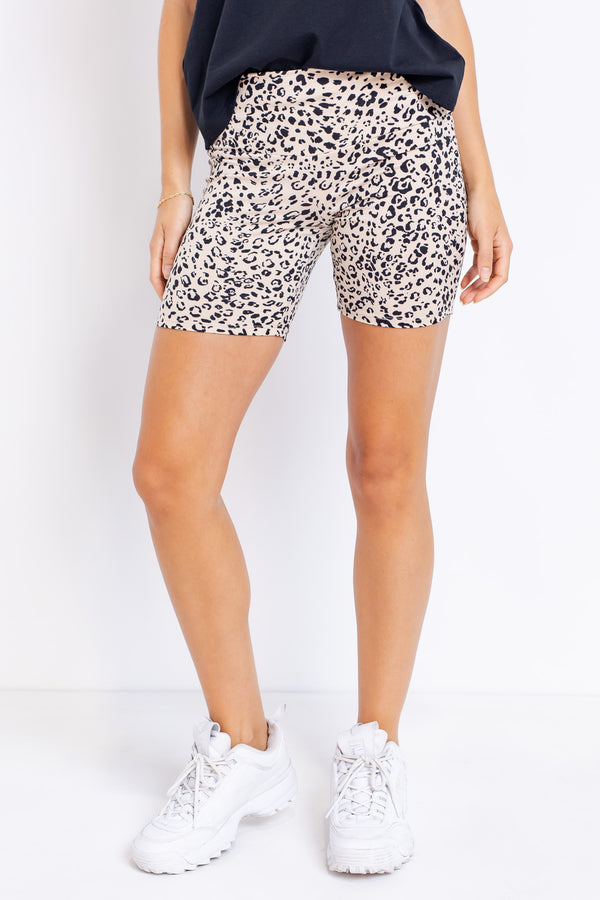 Cheetah-licious Bike Short