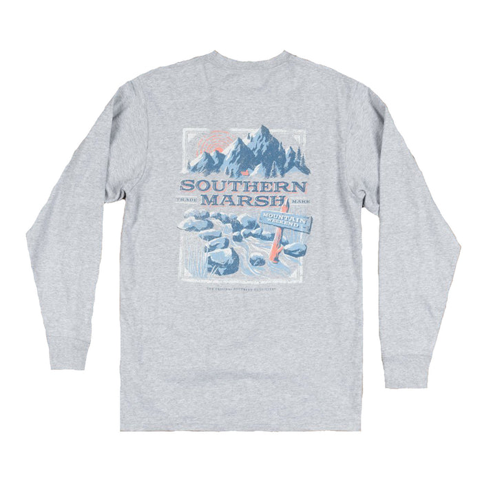 Southern Marsh Mountain Weekend Tee- LMWK-GRY