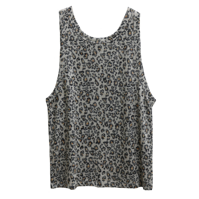 Z Supply Muscle Tank- Natural Leopard- ZT192128- NAL