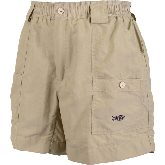 Aftco Regular Fishing Short- Khaki