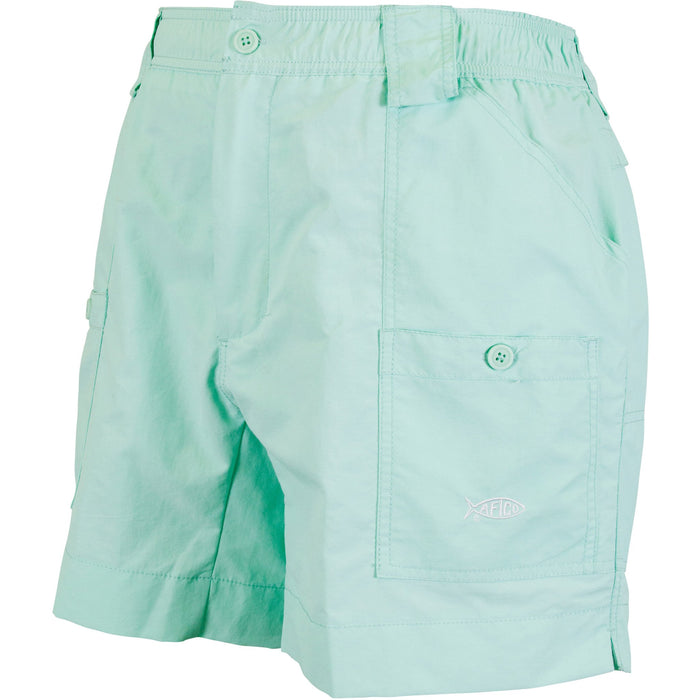 Aftco Regular Fishing Short- Mint
