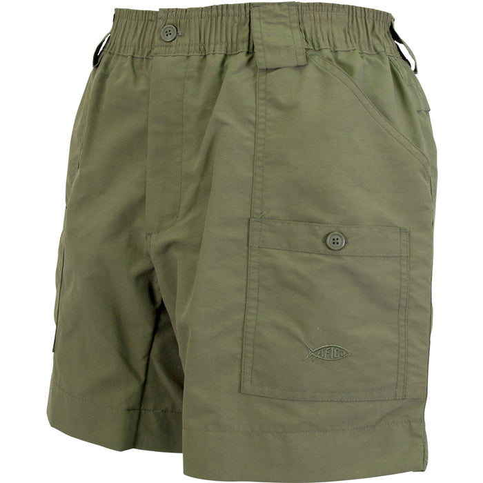 Aftco Regular Fishing Shorts- Safari