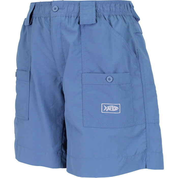 Aftco Long Fishing Short- M01L-AFBL- Air Force Blue