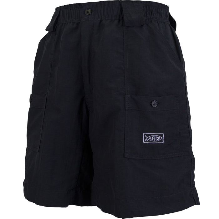 Aftco Long Fishing Short- Black