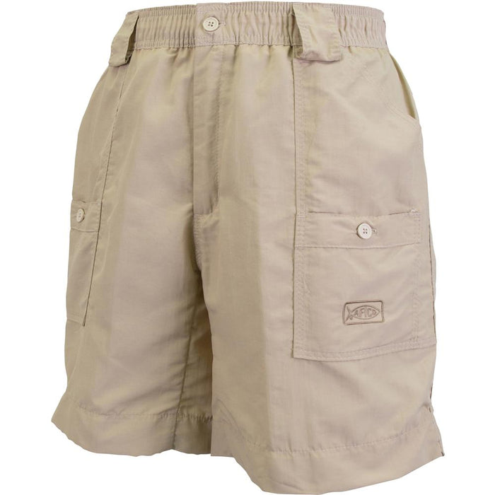 Aftco Long Fishing Short- Khaki