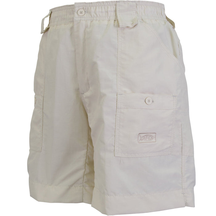 Aftco Long Fishing Short- Natural