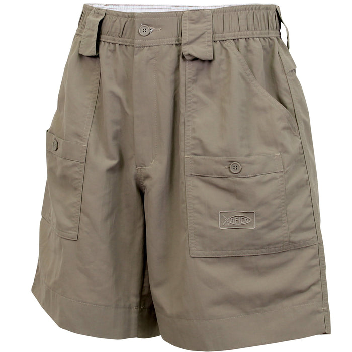 Aftco Long Fishing Short- Oak- M01L-OAK