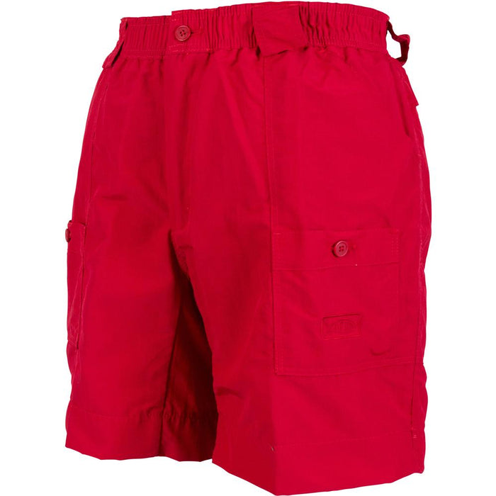 Aftco Long Fishing Short- Red