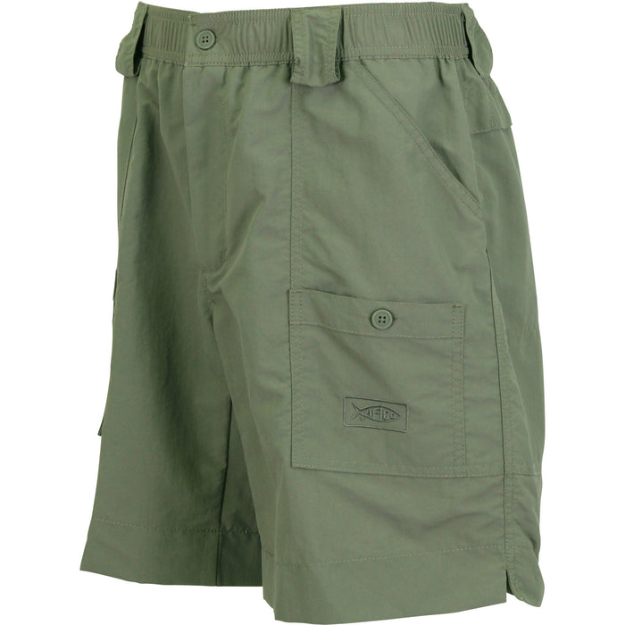 Aftco Long Fishing Short- M01L SAF- Safari