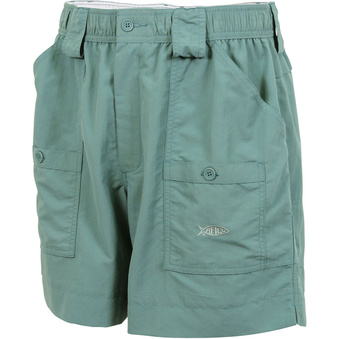 Aftco Regular Fishing Short- Wintergreen- M01-WNTG